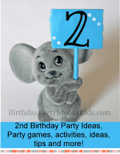 2nd birthday party ideas for boys and girls