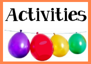 Activities for a birthday party for kids, tweens and teens