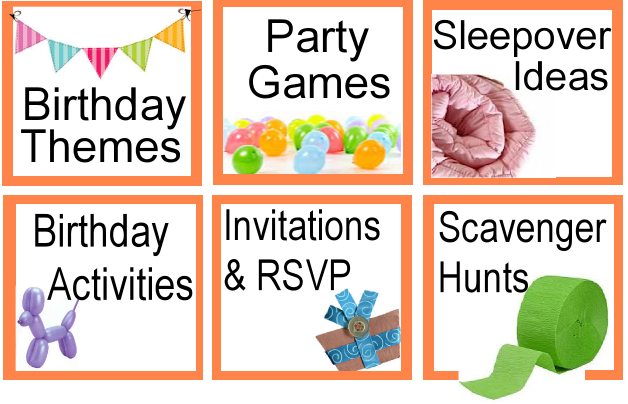 Birthday Party Ideas | Kids Party Ideas Games Themes