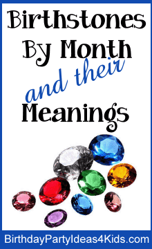 birthstones for 12 months and their meanings