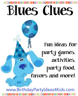 blues clues birthday party theme