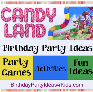 Candyland Birthday Party Ideas