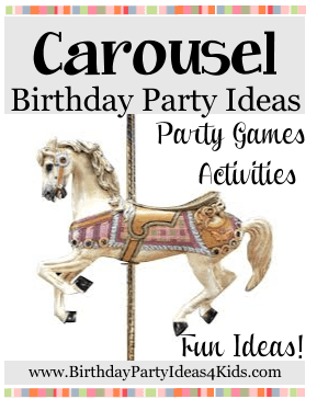 carousel birthday party theme ideas