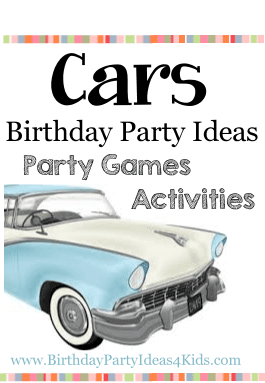 Cars Birthday Party Theme Ideas