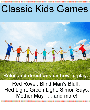 Classic kids games / red rover, mother may I, red light green light