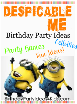Despicable Me Party Ideas for kids