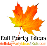 Fall party ideas, games and activities