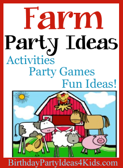 Farm Birthday Party Ideas for Kids