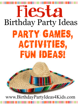 Mexican Fiesta Birthday Party Ideas