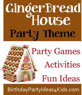 Gingerbread house party ideas