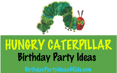Hungry Caterpillar birthday party ideas`
