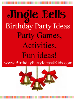 jingle bells birthday party theme