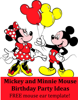 Mickey and Minnie birthday party