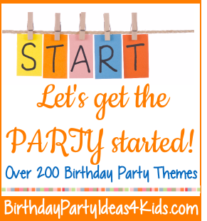 Get the party started with these great party ideas for kids, tweens and teens