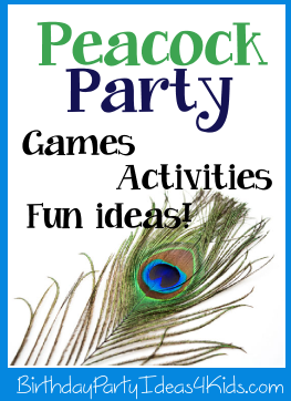 Peacock party ideas