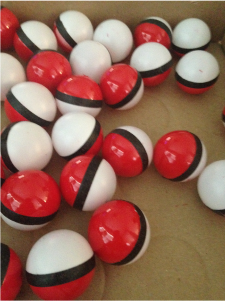 How to make Pokeballs for a Pokemon Go party