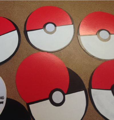Pokemon Go DIY invitations