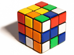 Rubik cube from the 1980's