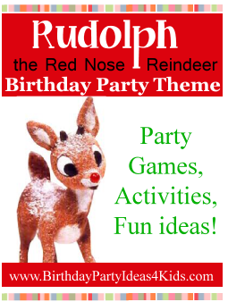 Rudolf Party Ideas
