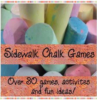 30 Sidewalk Chalk Games and activities for kids