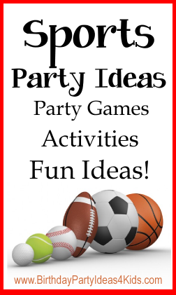 Sports Themes for Birthday Parties