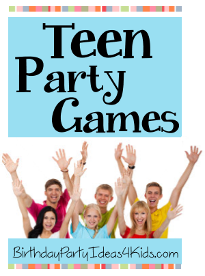 fun games to play for teens at a party
