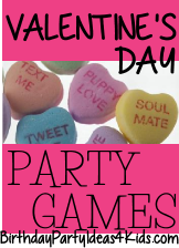 Valentine's Day themed party games