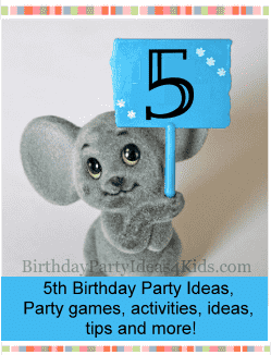 5th Birthday Party Ideas For Five Year Olds