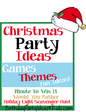 christmas party ideas christmas games and activities