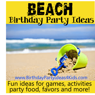 beach birthday party theme ideas