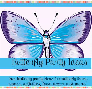 Butterfly birthday party ideas for kids