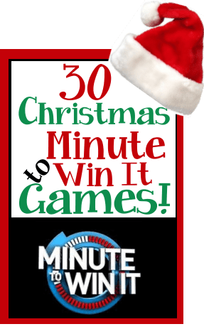 Minute To Win It Christmas Games.Christmas Minute To Win It Games