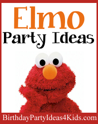 Elmo Birthday Party Ideas For Kids