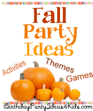 Fall Party Ideas Birthday Party Ideas 4 Kdis