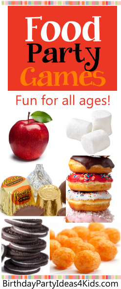 10 Party Games To Play Using Food Birthday Party Ideas 4 Kids
