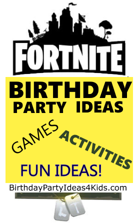 fortnite birthday party ideas for kids