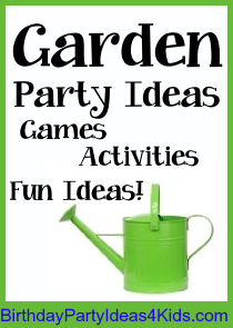 Garden Party | Birthday Party Ideas for Kids