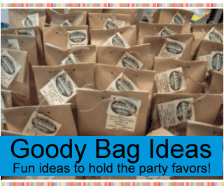 Birthday Party Goody And Treat Bag Ideas For Kids Tweens Goo Bags