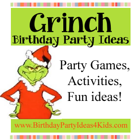 Grinch Birthday Party Ideas