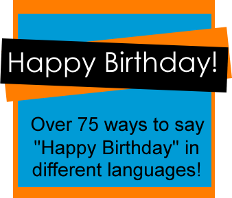 How to say happy birthday in afrikaans
