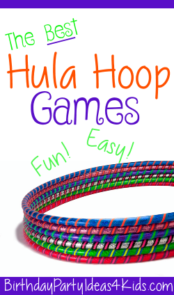 Hula Hoop party games