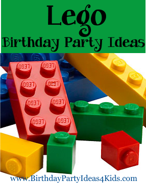 Lego themed birthday party ideas