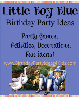 Little Boy Blue Birthday Party Ideas