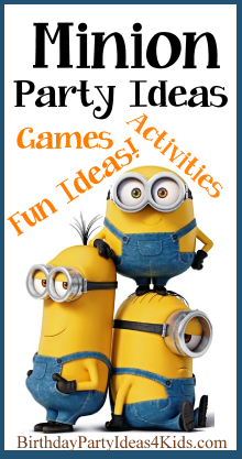 minion birthday party ideas and games