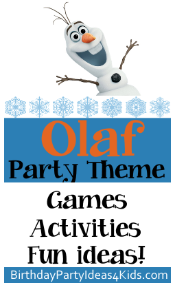 Olaf Party Theme Ideas