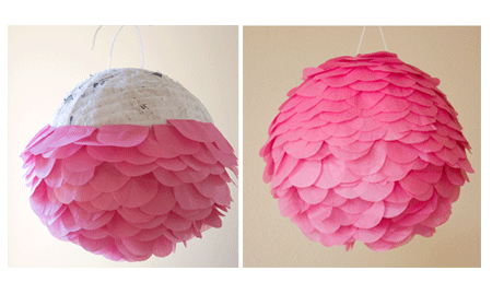 Paper mache recipe for making birthday party pinatas for Simple paper mache projects