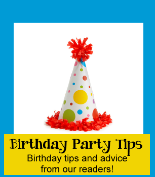 party tips for birthday parties