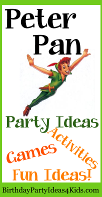 Peter Pan Party Ideas