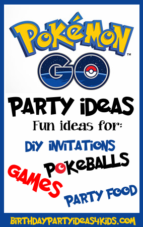 Pokemon Go Party Ideas
