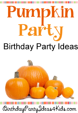 Pumpkin Theme Party Ideas